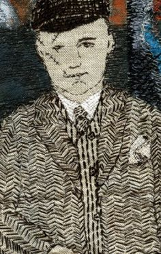 some things never change • detail • sue stone textile artist