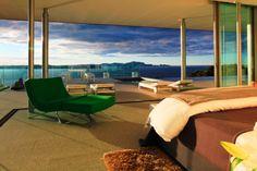 El complejo Eagles Nest villas de lujo en Nueva Zelanda