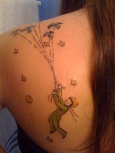 Le petit prince tattoo