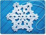 Мобильный LiveInternet Вяжем снежинки | vostok-anna - Дневник vostok-anna |
