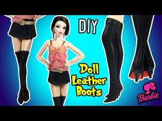 Selena Gomez Come & Get It Dress for Barbie Doll - DIY - How to Make Barbie Clothes - YouTube