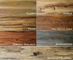 Vinyl flooring, so durable and the whiskey barrel is being installed soon!