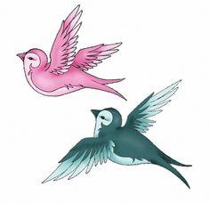 Swallow tattoo's by ~nirac on deviantART