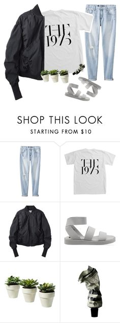 """""""booboo set but whatever"""" by chanelandcoke ❤ liked on Polyvore featuring Mossimo, Acne Studios, Cheap Monday and Aesop"""