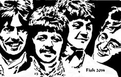The Beatles - People - User Gallery - Scroll Saw Village
