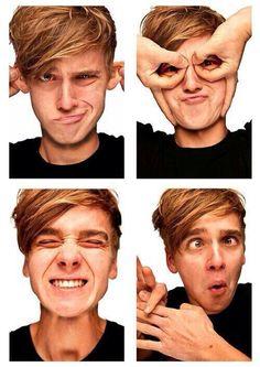 ~Joe being silly and looking cute af~ British Youtubers, Best Youtubers, Joe Sugg Shirtless, Joe And Zoe Sugg, Joseph Sugg, Sugg Life, My Amazing Boyfriend, Bae, I Love Him