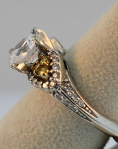 Engagement Ring Trends 2012 - Colored Stones