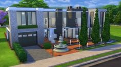 Mod The Sims: Monte El Legant (No CC) by Kompaktiv • Sims 4 Downloads