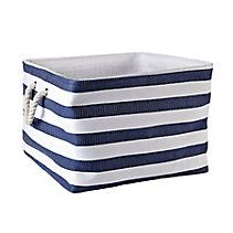 For Living Square Laundry Tote is perfect for bedroom or laundry room, or can be used as a decorative bin in any room Features a wire top, cotton rope handle, a Laundry Hamper, Laundry Room, Tires Online, Canadian Tire, New Homes, Hampers, House, Clothes Basket, Home