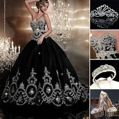 For your special wedding! #Dress   #WedingDress   #Gown   #WeddingShoes   #Ring   #Tiara