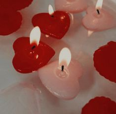 red candles discovered by Milana Rose ☆ on We Heart It Red Aesthetic, Aesthetic Pictures, We Do Logos, New Wall, Be My Valentine, Cupid, Wall Collage, Red And Pink, Heart Shapes