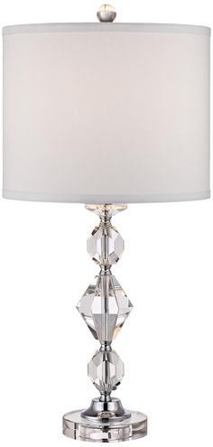 Zeus Crystal Facets Table Lamp