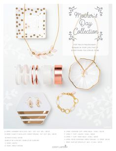 Color by Ambers new Exclusive Mothers Day Collection is so GORGEOUS!  So dainty, romantic and perfect for mom!  Get it only till May 8th!