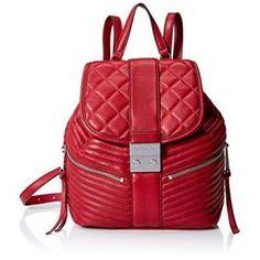 MICHAEL Michael Kors Elisa Small Backpack (Cherry)