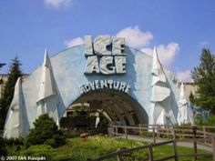 AMUSEMENT ATTRACTION! Ice Age Adventure - Movie Park Germany - Onride | Jerry's Hollywoodland Amusement And Trailer Park
