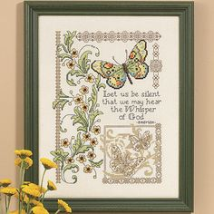 Whisper of God - Cross Stitch, Needlepoint, Embroidery Kits – Tools and Supplies