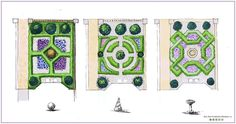 Front garden Layout - Front garden designs based on parterre style Bea Ray Garden and Landscape Design. Landscape Design Plans, Garden Design Plans, Landscape Architecture Design, House Landscape, Front Yard Design, Animal Crossing Game, Island Design, Cool Landscapes, Garden Planning