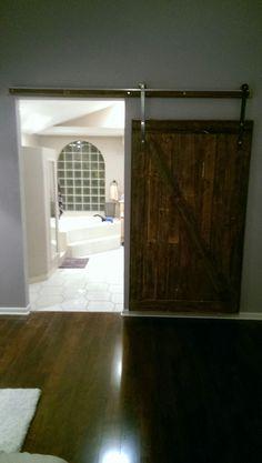 My first ever barn door..