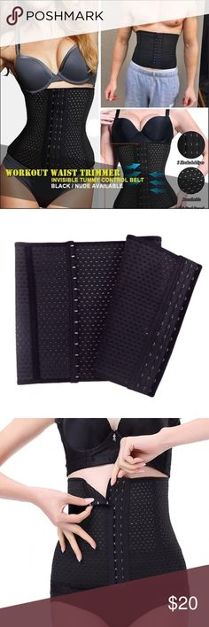 Waist Trainer -- Brand New -- Never used Waist Trainer --Brand New --Never used  • Helps Lose weight   • Helps Lose inches   • Drops pants sizes  • Improves posture   • Contours midsection  • Comfortable  • Get rid of muffin top  • Improves confidence  • Provides back support  • Reduce waistline  • Can be worn on top or over clothing to give a instant weight loss look  • Start to see results without wearing it within a week Nike Underwear & Socks Undershirts