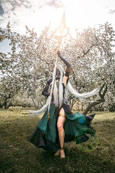 Cosplayer: Kris Kuz / Cosplay: Azura from Fire Emblem: Fates/ Photo: Anna Faun  vk.com/forest_panpipe