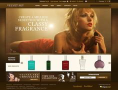 Free Prestashop and WordPress E-Commerce Theme: Velvet Sky