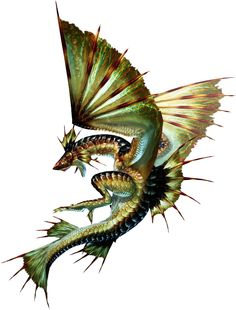 It's a fish? No! It's a bird? No! It's... | MH3U Plesioth.