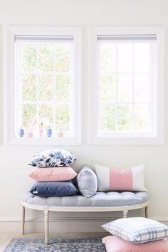 Beautiful luxury pillows from Caitlin Wilson Design