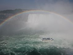 Maid of the Mist rainbow