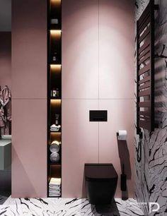 New bath room shower organization design Ideas Modern Bathroom Design, Bathroom Interior Design, Home Interior, Minimal Bathroom, Bad Inspiration, Bathroom Inspiration, Bathroom Ideas, Boho Bathroom, Bathroom Organization