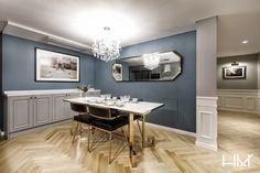 Korean Apartment, Wainscoting, Living Room Modern, Double Vanity, Kitchen Design, Interior Design, Mirror, House, Furniture