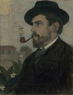 Joaquín Torres-García | Autorretrato (Self-portrait) (1902) | Artsy