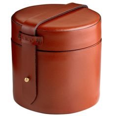 Tanner Krolle Gibbons tie box in English bridle leather