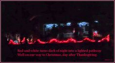 Christmas Lights Our Way - Persona Paper