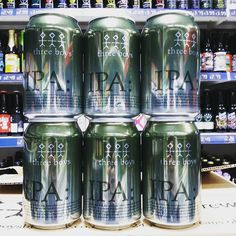 New beer. IPA - 5.2% from @threeboysbrewery in stock now