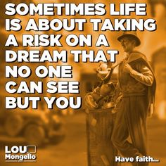 Sometimes life is about taking a risk on a dream that no one can see but you. Have faith... #entrepreneur #entrepreneurs #entrepreneurlife #motivation #inspiring #inspirational #disney #solopreneur #positive #positivity #motivational #quotes #disney #disneyland #waltdisneyworld #disneyworld #wdw #instadisney #disneyside #disneylife