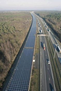 16,000 solar panels installed on the roof of a high-speed rail tunnel in Antwerp, Belgium have been officially entered into service... The project, known as the Solar Tunnel, is the first of its kind in Europe as it is the first time railway infrastructure has been used to generate green energy...