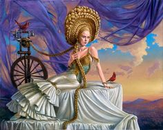 "Michael Cheval ""The Distant Call of Unbeknown Aspiration"""