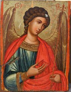 Spiritual Cleansing, Archangel Michael, Orthodox Icons, St Michael, Christian Art, Mona Lisa, Spirituality, Artwork, Painting