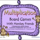 15 Printable Board Games from Games 4 Learning These math board games are designed to help children develop mastery of basic multiplication facts.