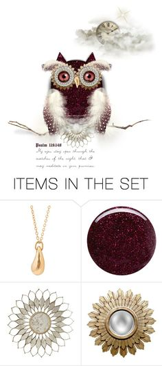 """""""Night Watch - {Psalm 119:148}"""" by fearlesslyinlove7 ❤ liked on Polyvore featuring art, Inspired, owls, scripture, nightwatch and Psalms"""