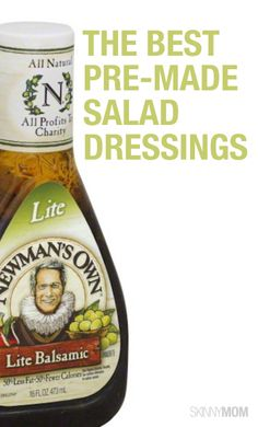 Check out our list of the healthiest pre made salad dressings that you will LOVE!