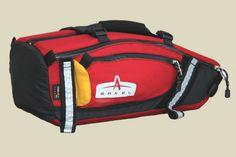 minimalist onboard storage /// Arkel TailRider Trunk Bag Red