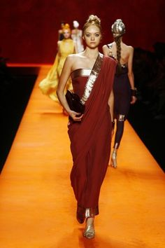 Hermes recently launched a line of sari inspired clothing.
