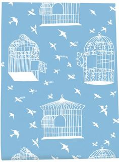 Birdcage wall paper