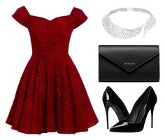 """""""Romantic"""" by officialmelina ❤ liked on Polyvore featuring D.anna, Dolce&Gabbana, Balenciaga and Messika"""