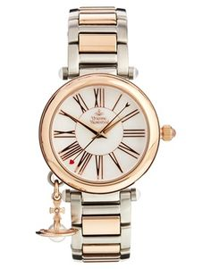 Image 1 ofVivienne Westwood Two Tone Numberal Watch