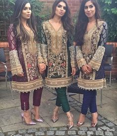 Custom made available at Royal Threads Boutique. Pakistani Wedding Outfits, Pakistani Dresses, Indian Dresses, Indian Outfits, Ethnic Fashion, Asian Fashion, Pakistan Street Style, Pakistani Couture, Pakistan Fashion