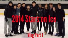 Stars on Ice Japan Vlog 1 - Osaka, Rehearsals, Circle of Life