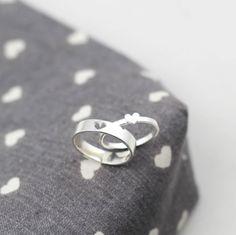 Anello di coppia insieme lui e lei promessa anelli di JewelryRB
