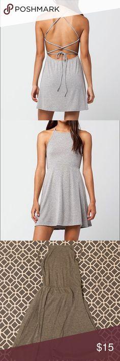 Full Tilt Cross Cross Back Dress Brand new with tags. Perfect condition! Full Tilt Dresses
